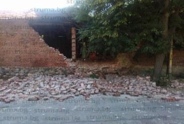 Опасен инцидент! Срути се постройка в Дупница