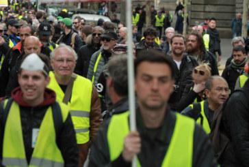"""""""Жълтите жилетки"""" с протестна акция на Северната гара в Париж"""