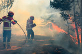 ОГНЕН АД ! Хиляда пожарникари се борят с горски пожари в Португалия