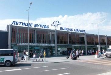 ЗАРАДИ ЛОШОТО ВРЕМЕ! Отмениха полети на Летище Бургас
