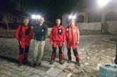 Планински спасители от Благоевград помогнаха на турист, изгубил се над Рилския манастир