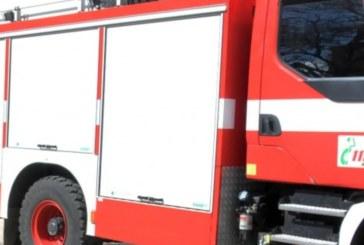 Извънредно! Автобус с 31 деца пламна на магистралата край Карнобат