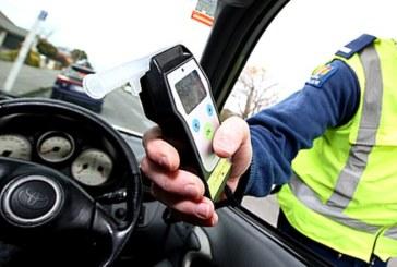 Почерпен шофьор преспа в ареста