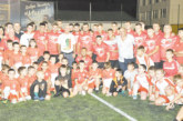 1000 се стекоха в петричка гимназия да открият нов стадион с Хр. Стоичков