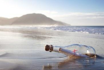 Писмо в бутилка в памет на починало дете преплува от Англия до Италия