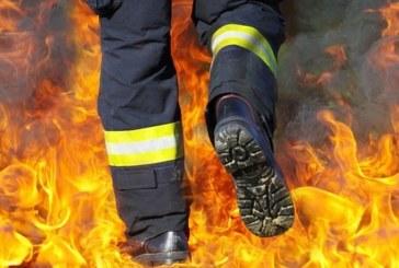 Огнен ад! Къща пламна в Разлог