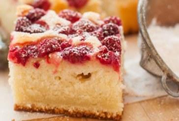 Кейк с малини