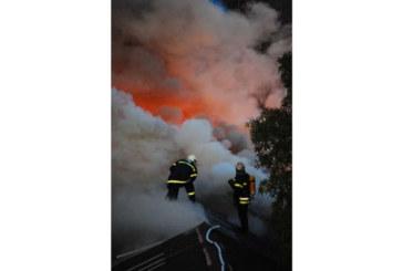 Запали се апартамент в Дупница, 2 пожарни екипа на крак
