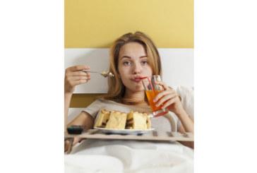 4 причини да не ядете в леглото