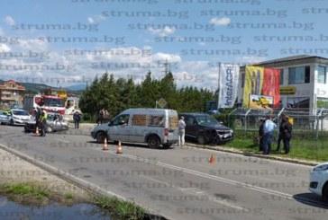 Тежка катастрофа на входа на Метро – Благоевград