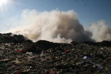 Жители на Джерман алармират: Гъста димна завеса се носи от депото за  отпадъци на Кольо Илиев