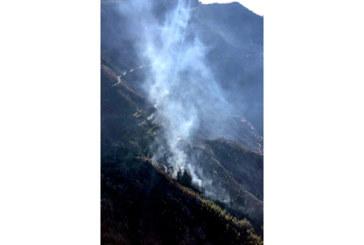 Продължава борбата с огнената стихия на остров Гран Канария