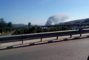 Задушливият въздух от пожара в Дупница се усеща и в Благоевград