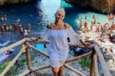 Ева Веселинова празнува рожден ден в Италия