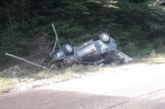 Пияна шофьорка се заби в дърво, ранено е 4-г. дете