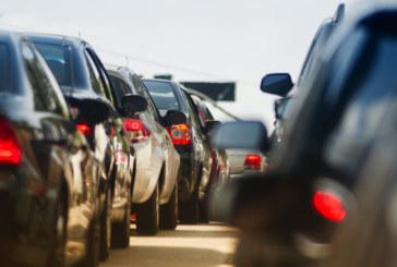 Интензивен трафик и затегнат контрол по пътищата