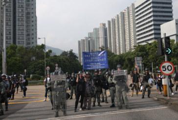 Нов протест в Хонконг