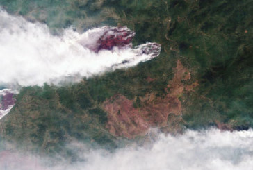 Огненият ад в Сибир продължава