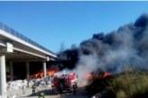 """Експерт: Пораженията по АМ """"Струма"""" заради пожара  са големи, пускат движението най-рано след два месеца"""