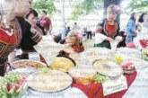 """След активна обмяна на рецепти по телефоните и Фейсбук жени от 30 читалища в Кюстендилско показаха величието на хляба на празника """"Панагия"""""""