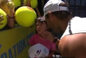 Надал предотврати инцидент с дете, затиснато от тълпа фенове, на US Open