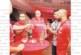 """Петричкият цесекар А. Гущеров на коктейл с фенове и VIP гости след четирите си гола срещу """"Поморие"""""""