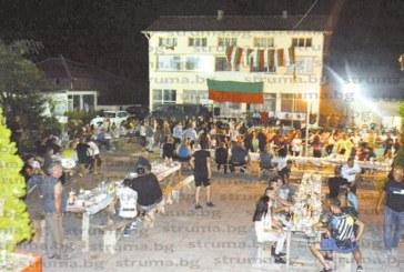 Пет кукерски курбана събраха близки и приятели в Симитлийско