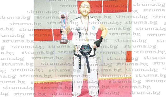 Благоевградчанин с историческа световна титла на таекуон-до, неговият брат вицешампион