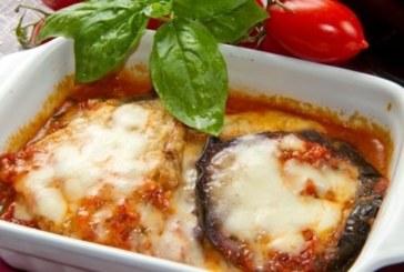Патладжани с моцарела и домати