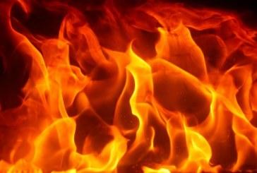 Много пожари в Пиринско! Кола, микробус и имущесто изгоряха