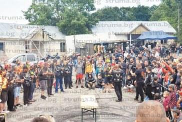 """Мотористи от четири държави се събраха в местността Памука за 20-ия юбилеен събор на """"Осоговски ездачи"""""""