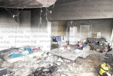 Пожар изпепели новозакупения апартамент на младо семейство в Банско, съседите евакуирани през терасите на комплекса
