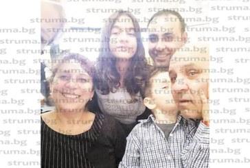 БЛАГОЕВГРАДЧАНИ В ИТАЛИЯ! Целувка от внука Давид на работното си място под вулкана Етна получи ромският кмет В. Радев за ЧРД