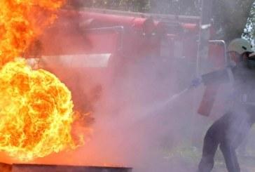 Огнен ад в Кюстендилско! 2 пожарни екипа се бориха със стихията