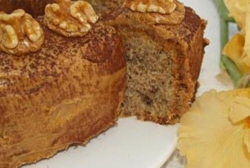 Бърз кекс с орехи