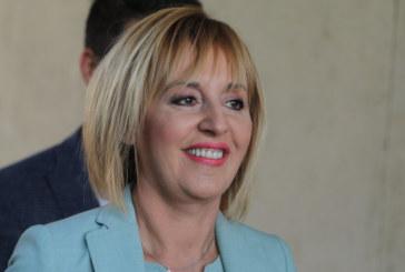 Манолова: Основният ми приоритет ще бъде превръщането на София в чиста и зелена столица