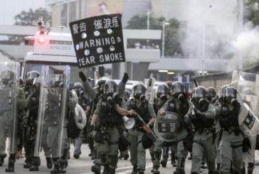 Нови сблъсъци между полиция и протестиращи в Хонконг