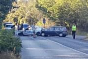 Катастрофа между патрулка и цивилен автомобил
