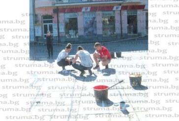 Новите майстори от Кюстендил превръщат центъра в древен римски площад