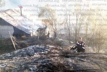 4 къщи, 50 дка дървета и храсти от селскостопанския фонд на с. Бистрица погълна пожарът, социалните подпомагат собствениците на опожарените домове с по 375 лв.