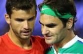 Григор Димитров в нощен мач срещу Федерер