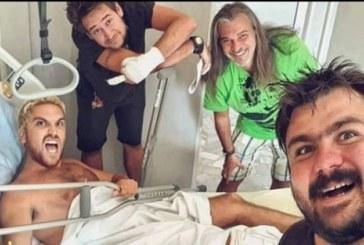 Синът на Маги Халваджиян прикован за леглото
