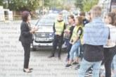 Ученици от Симитли апелираха шофьори към внимание на пътя
