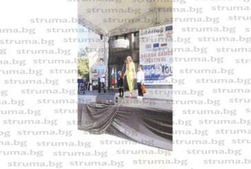 """Зам. кметът Хр. Шопова откри фестивала """"Балкански игри"""": Благоевград гледа смелo към бъдещето благодарение на талантливите си деца"""