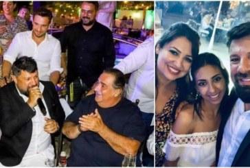 Василис Карас омъжи дъщеря си, Тони Стораро гост на сватбата
