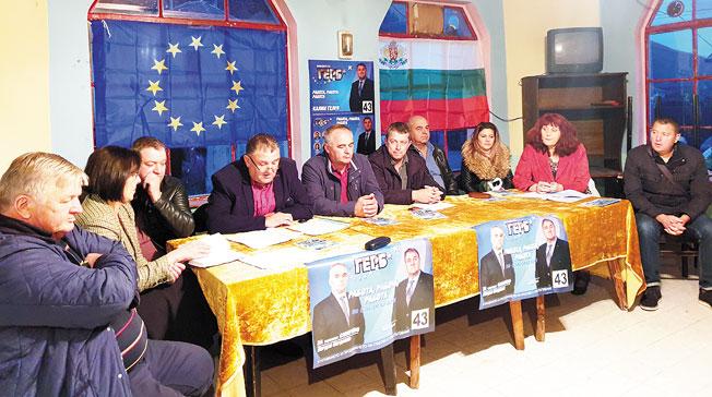 Кандидатът за кмет на община Сапарева баня от ПП ГЕРБ Калин Гелев:  Работим в интерес на всяко населено място