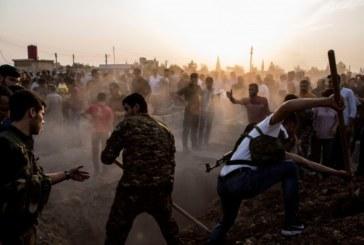 Най-малко 14 убити при бомбардировки в Сирия