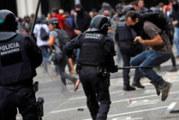 Сблъсъци на летището в Барселона