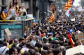 Десетки ранени и арестувани при масовите безредици в Барселона