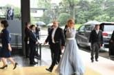 Деси Радева впечатли с елегантна рокля в Токио